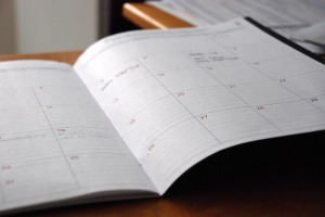 Photo of book planning tool